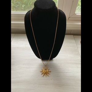 Vintage Anne Klein Sun necklace.